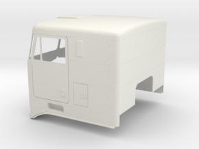 K100-Flat-Roof in White Natural Versatile Plastic