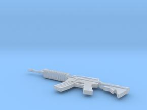 Miniature M60 Machine Gun in Smooth Fine Detail Plastic: 1:12