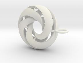marine in White Natural Versatile Plastic: Medium