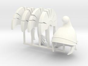 DIMITRIS 12. HELMETS  in White Processed Versatile Plastic