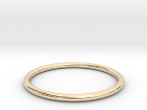wire ring size 5 in 14K Yellow Gold
