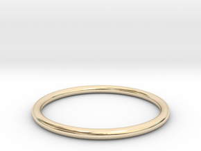 wire ring size 6 in 14K Yellow Gold
