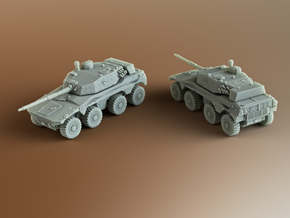Rooikat 76 South African armoured Scale: 1:200 in Smooth Fine Detail Plastic