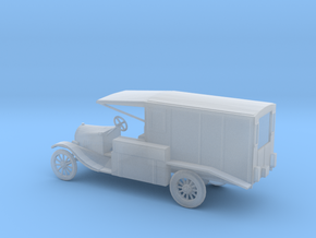 1/100 Scale Model T Ambulance in Smooth Fine Detail Plastic