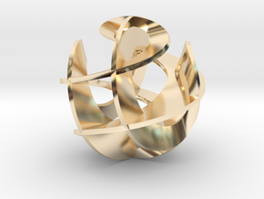 Sculpture IV in 14K Yellow Gold