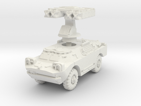 BRDM 2 AT Gaskin scale 1/87 in White Natural Versatile Plastic