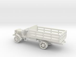 1/87 Scale Liberty Truck Cargo in White Natural Versatile Plastic
