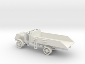 1/72 Scale Liberty Armored Truck in White Natural Versatile Plastic