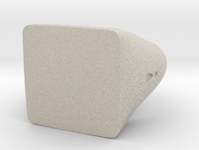 Square Signet Ring in Natural Sandstone: 5.5 / 50.25