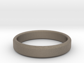 tough guy ring size 8.5 in Matte Bronzed-Silver Steel