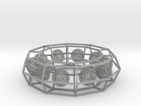cage ring frame with voronoi ball size 10 (1) in Aluminum