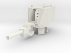 1/100 MT-1 Turret in White Natural Versatile Plastic