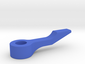 C-972 - Sling Shot Kicker Arm  in Blue Processed Versatile Plastic