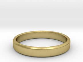 tough guy ring size 12.5 in Natural Brass