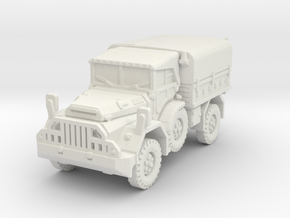 DAF YA 126 (Hardtop) scale 1/87 in White Natural Versatile Plastic