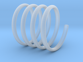 spring coil ring size 6 in Smoothest Fine Detail Plastic