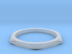 nut ring size 7.5 in Smoothest Fine Detail Plastic
