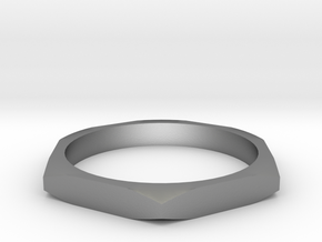 nut ring size 11.5 in Natural Silver