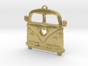 VeeDub love in Natural Brass