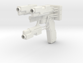 1:6 Miniature Y-Gun - Gantz in White Natural Versatile Plastic