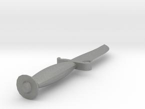 CS:GO Default Terrorist Knife Full Scale in Gray PA12