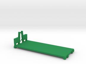 M1077 PLS Flat Rack in Green Processed Versatile Plastic: 1:200
