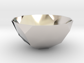 54mm f110 bowl lawal solids gmtrx in Rhodium Plated Brass