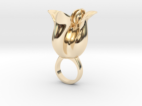 Tulipo - Bjou Designs in 14k Gold Plated Brass