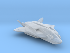 Jackal FB47 advanced fighter bomber in Smooth Fine Detail Plastic