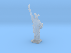 1/1000 Statue of Liberty Figure 4.6 cm in Smooth Fine Detail Plastic