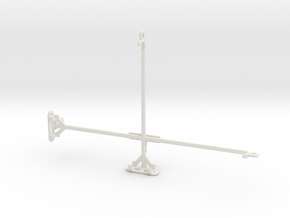 Samsung Galaxy Tab A 10.1 (2016) tripod mount in White Natural Versatile Plastic