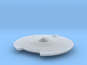 2500 TMP modified refit saucer in Smooth Fine Detail Plastic
