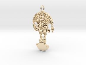 TUMI Pendant in 14K Yellow Gold
