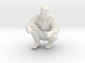 Printle T Homme 2458 - 1/24 - wob in White Natural Versatile Plastic