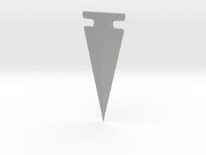 American Arrowhead - Omega in Aluminum