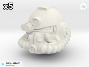 marine mk51_x5 in White Natural Versatile Plastic