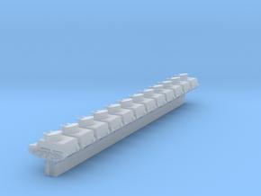 1/700 T13 B3 Tank Destroyer x12 (FUD) in Smooth Fine Detail Plastic