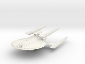 Federation CrazyDog Class A  HvyCruiser in White Natural Versatile Plastic