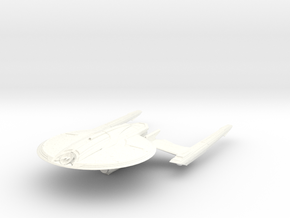 Federation CrazyDog Class B  HvyCruiser in White Processed Versatile Plastic