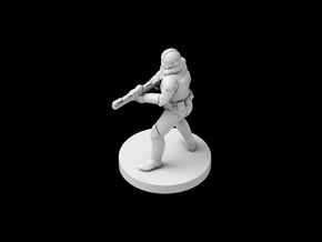 (IA) Clonetrooper Phase 2 4 in Smooth Fine Detail Plastic