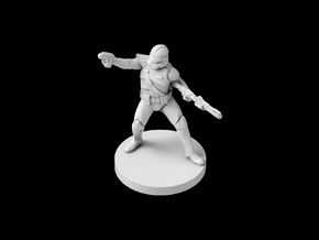 (IA) Commander Fordo in Smooth Fine Detail Plastic