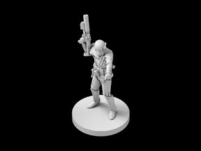 (IA) Deathtrooper 4 in Smooth Fine Detail Plastic