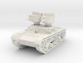 T 26 A Tank scale 1/87 in White Natural Versatile Plastic