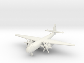 (1:144) Arado Ar 234 PTL (DB021) (Wheels down) in White Natural Versatile Plastic