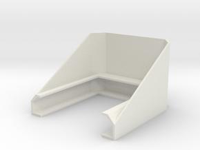 Garmin Striker 4 Plus Sunshade in White Natural Versatile Plastic