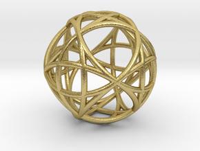 Mind 6D Universe Akasha in Natural Brass
