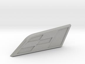 Cupra Badge Grill Replacement in Aluminum