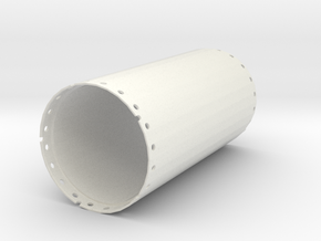 Casing joint 2000mm, length 4,00m in White Natural Versatile Plastic