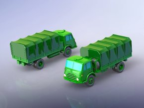 Steyr 680 4x4 Trucks 1/220  in Smooth Fine Detail Plastic