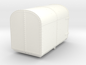 FRB06 Festiniog Railway Oakley Gunpowder Van SM32 in White Processed Versatile Plastic